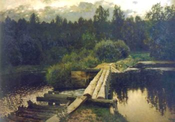 By the whirlpool 1892 | Isaac Ilich Levitan | oil painting
