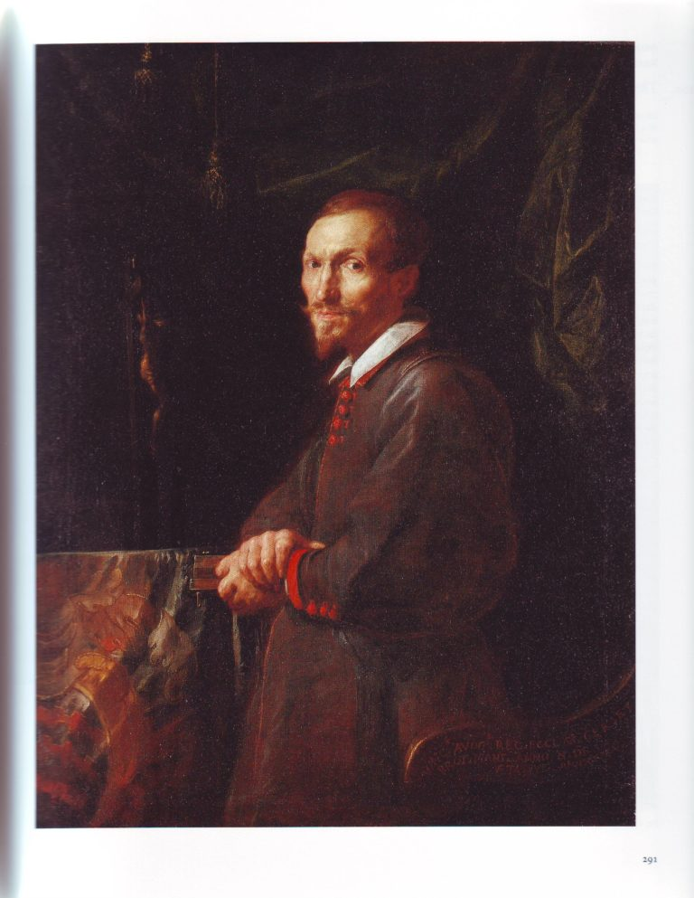 Portrait Of Vincenzo Avogadro | Domenico Fetti | oil painting
