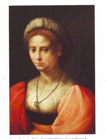 Portrait Of A Woman | Domenico Puligo | oil painting