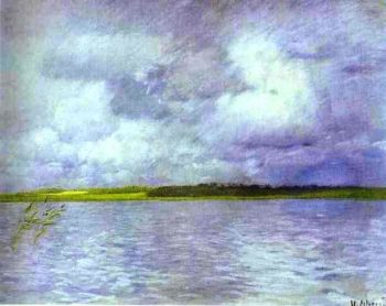 Cloudy Day 1895 | Isaac Ilich Levitan | oil painting