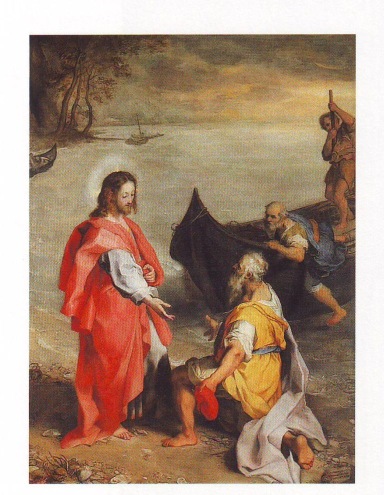 The Calling Of ST Andrew | Federico Barocci | oil painting