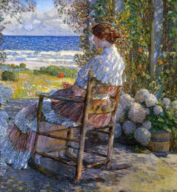 The Sea | Frederick Childe Hassam | oil painting