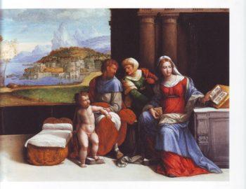 The Holy Family | Garofalo | oil painting