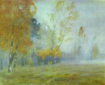 Fog Autumn 1899 | Isaac Ilich Levitan | oil painting