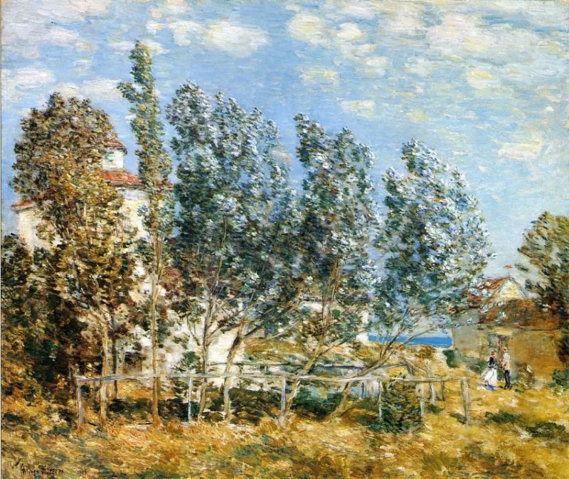 The Southwest Wind | Frederick Childe Hassam | oil painting