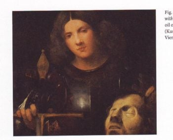 David With The Head Of Goliath | Giorgione | oil painting