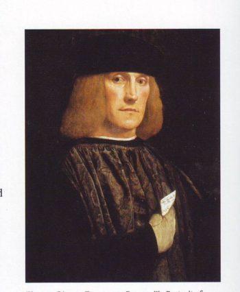 Portrait Of Bernardo Di Salla | Giovan Francesco Caroto | oil painting