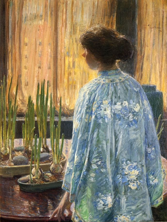 The Table Garden | Frederick Childe Hassam | oil painting