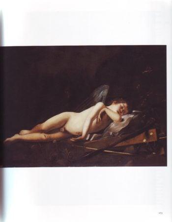 Cupid Sleeping | Giovanni Battista Caracciolo | oil painting