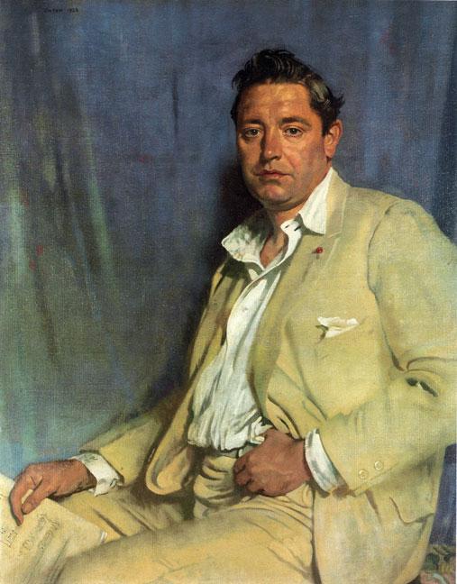 Count John McCormack | Sir William Newenham Montague Orpen | oil painting