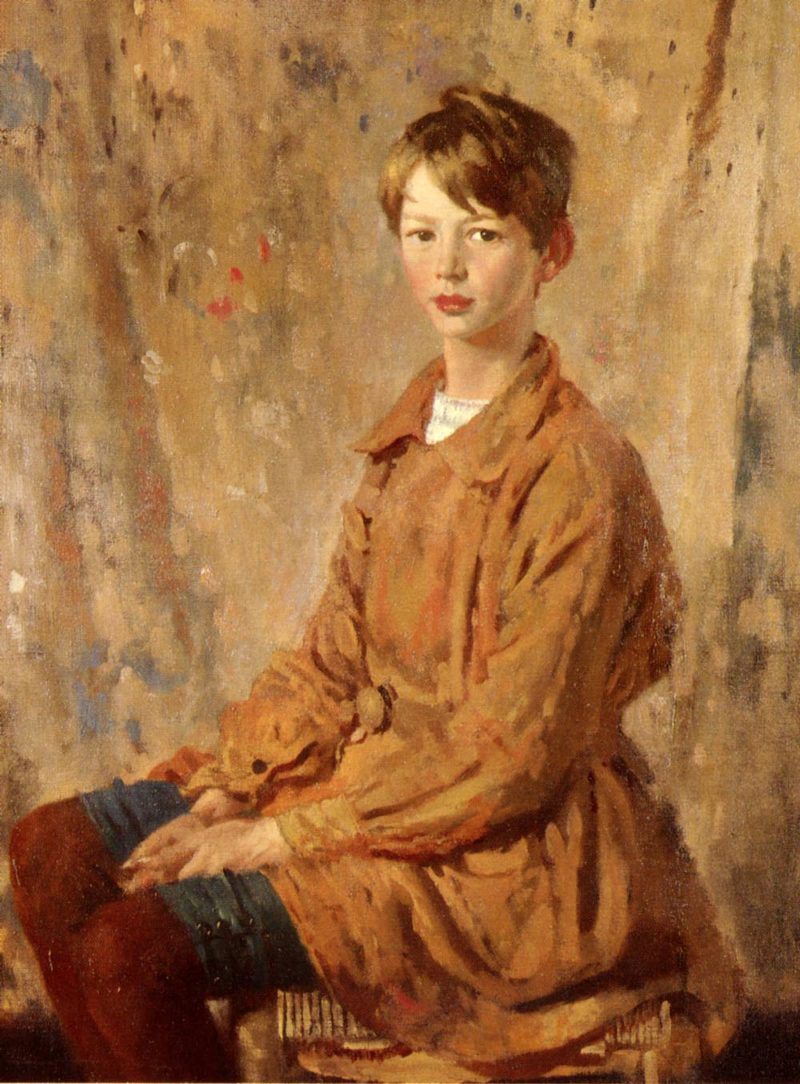 A Portrait Of Master Spottiswoode | Sir William Newenham Montague Orpen | oil painting