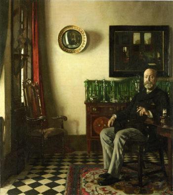 Lewis R Tomalin | Sir William Newenham Montague Orpen | oil painting