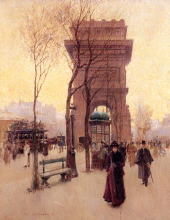 Arc de triumphe de Etoile | Thomas Cromwel Corner | oil painting