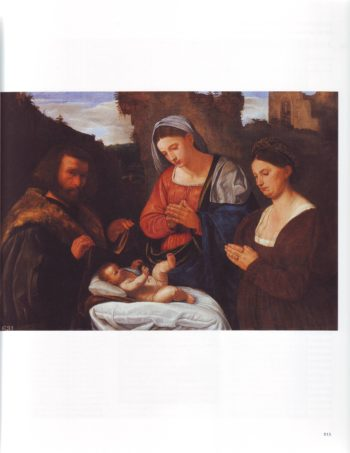 The Virgin Adoring The Child With Two Donors | Girolamo Savoldo | oil painting