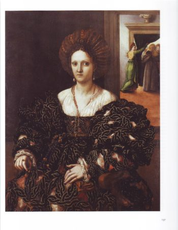 Portrait Of Margherita Paleologo | Giulio Romano | oil painting