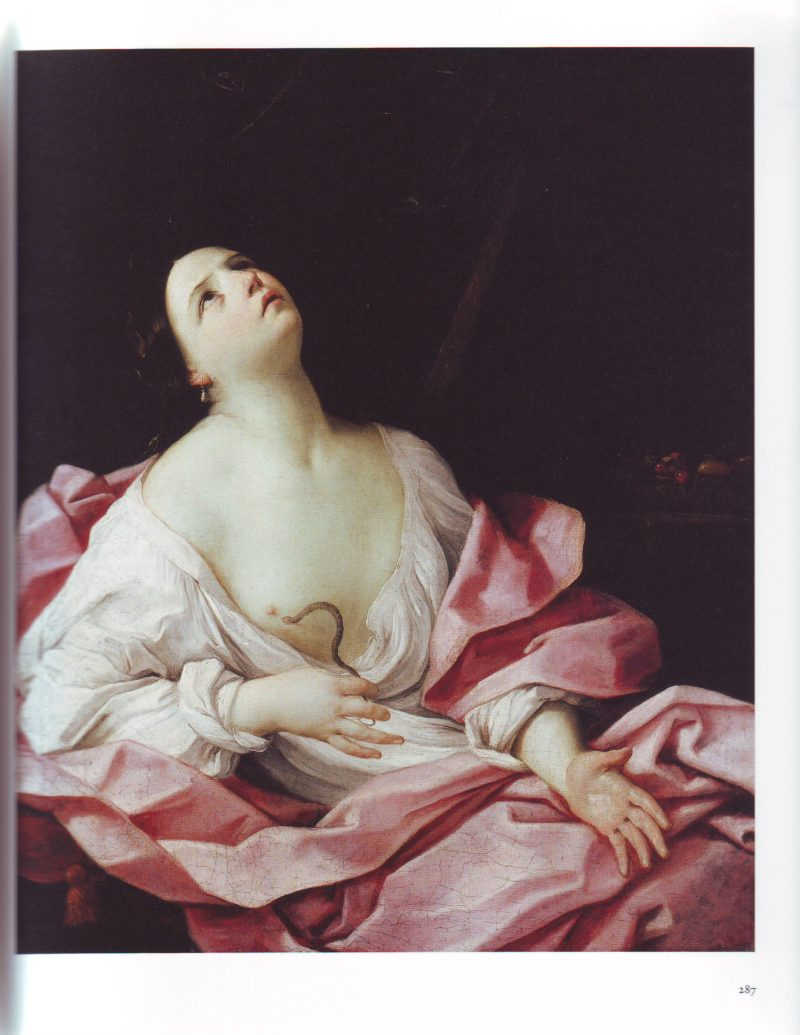Cleopatra With The Asp | Guido Reni | oil painting