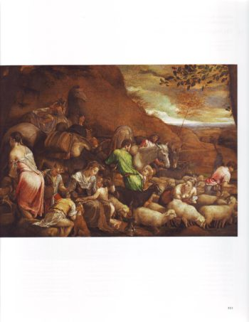 The Journey Of Jacob | Jacopo Bassano | oil painting
