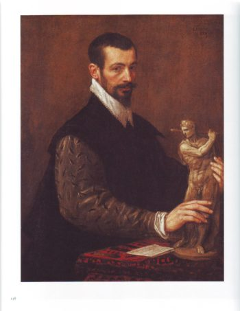 Portrait Of Tiziano Aspetti | Leandro Bassano | oil painting