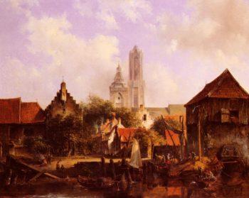 Fran Utrecht | willem roelofs | oil painting