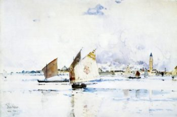 Venice | Frederick Childe Hassam | oil painting