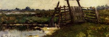 Noorden | willem roelofs | oil painting