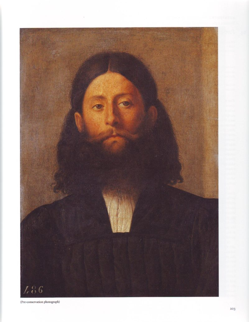 Portrait Of A Bearded Man | Lorenzo Lotto | oil painting