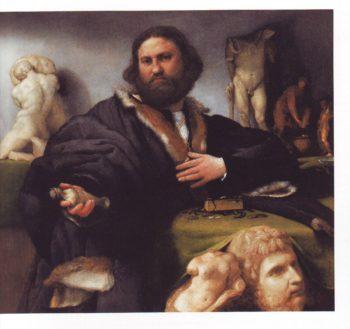 Portrait Of Andrea Odoni | Lorenzo Lotto | oil painting