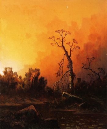 Evening | William Sheridan Young | oil painting