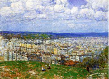 View of New York from the Top of Fort George | Frederick Childe Hassam | oil painting