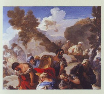 Psyche Exposed On A Rock | Luca Giordano | oil painting