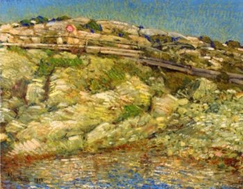 Walk Around the Island | Frederick Childe Hassam | oil painting