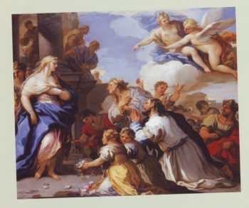 The Story Of Cupid And Psyche | Luca Giordano | oil painting
