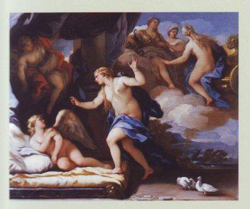 Venus Chides Cupid2 | Luca Giordano | oil painting