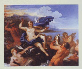 Venus Learns Of Cupid's Plight | Luca Giordano | oil painting