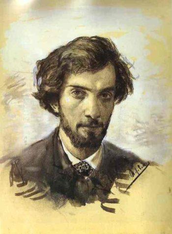 Self portrait 1885 | Isaac Ilich Levitan | oil painting