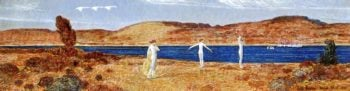Wild Swans Sacred to Apollo | Frederick Childe Hassam | oil painting