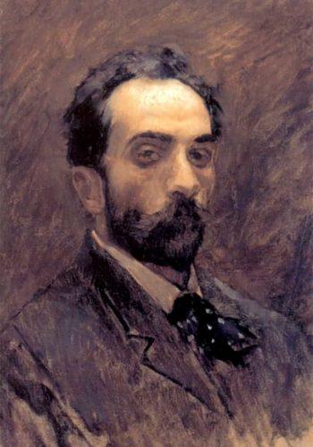 Self portrait 1891 1899 | Isaac Ilich Levitan | oil painting