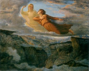 The Poem of the Soul The Ideal | Anne Francois Louis Janmot | oil painting
