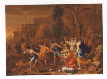 The Saving Of The Infant Pyrrhus | Nicolas Poussin | oil painting