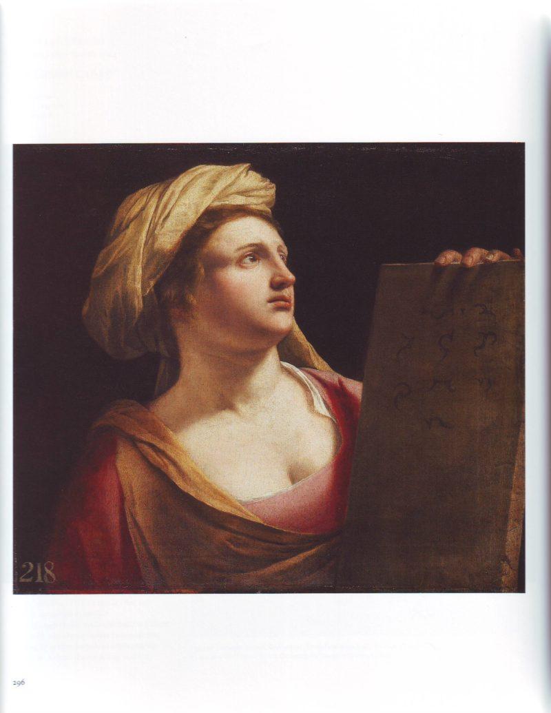 A Sibyl | Orazio Gentileschi | oil painting