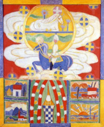 Berlin Ante War | Marsden Hartley | oil painting