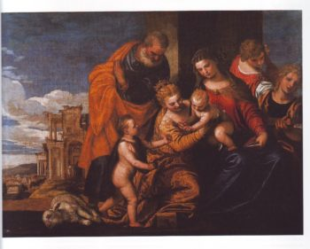The Mystic Marriage Of ST Catherine Of Alexandris | Paolo Veronese | oil painting