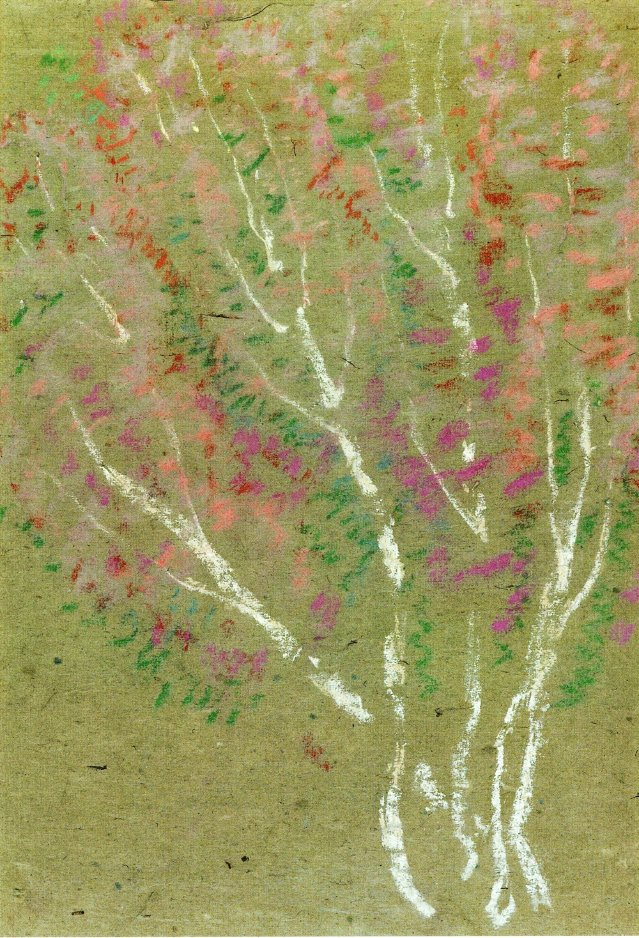 Birch Trees | Marsden Hartley | oil painting