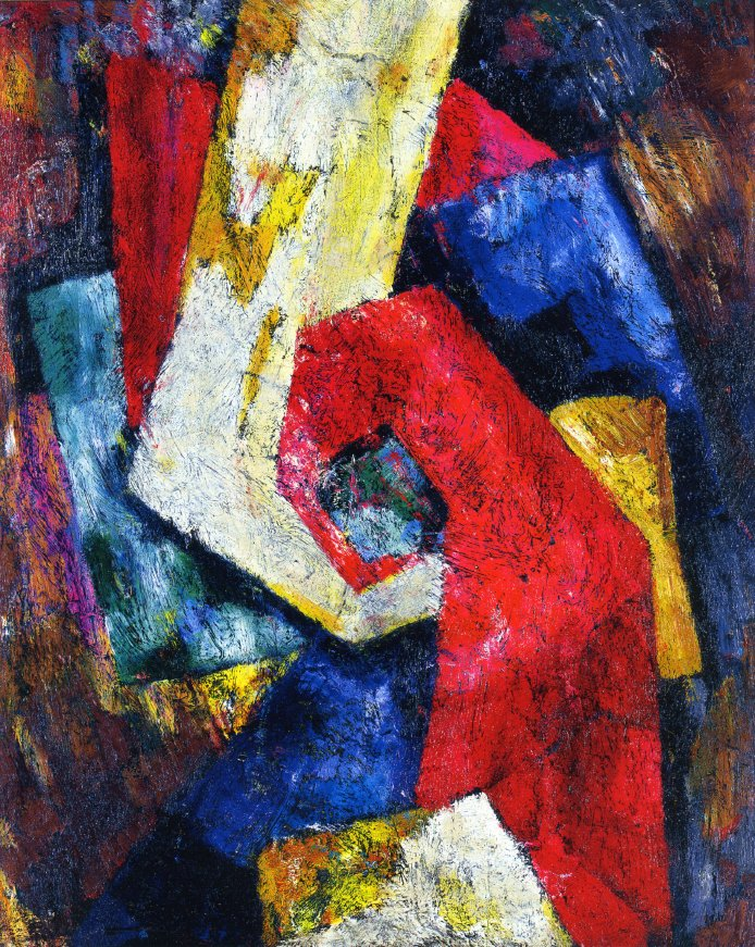 Composition | Marsden Hartley | oil painting