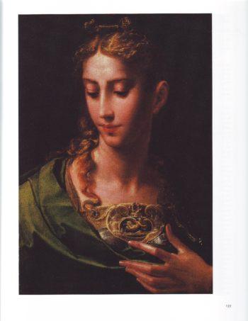Pallas Athene | Parmigianno | oil painting