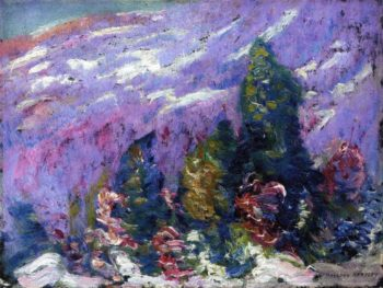 Songs of Winter No 4 | Marsden Hartley | oil painting
