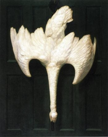The Trumpeter Swan | Alexander Pope | oil painting