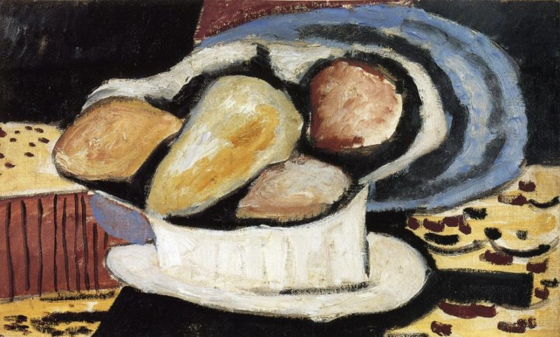 Still Life with Pears | Marsden Hartley | oil painting