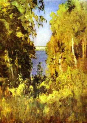 The Gully 1898 | Isaac Ilich Levitan | oil painting