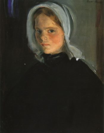Little Lamerche | Cecilia Beaux | oil painting